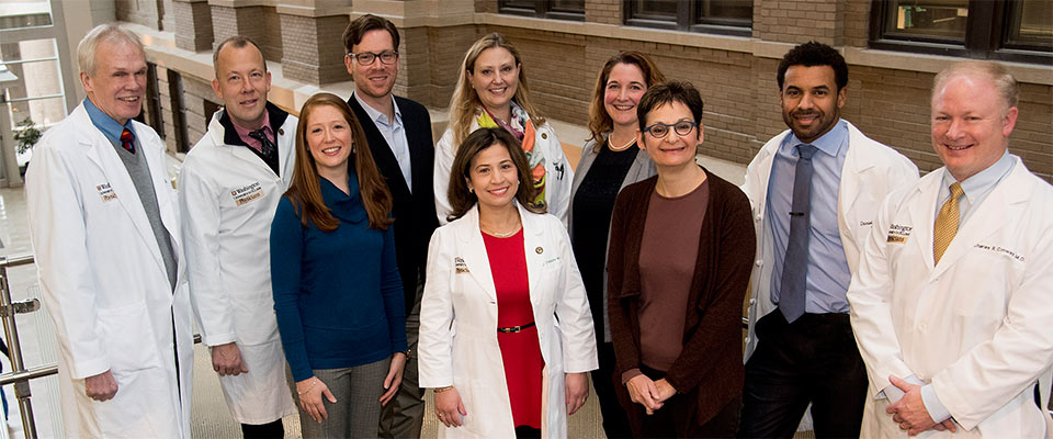 Group shot of Center for Brain Research in Mood Disorders team